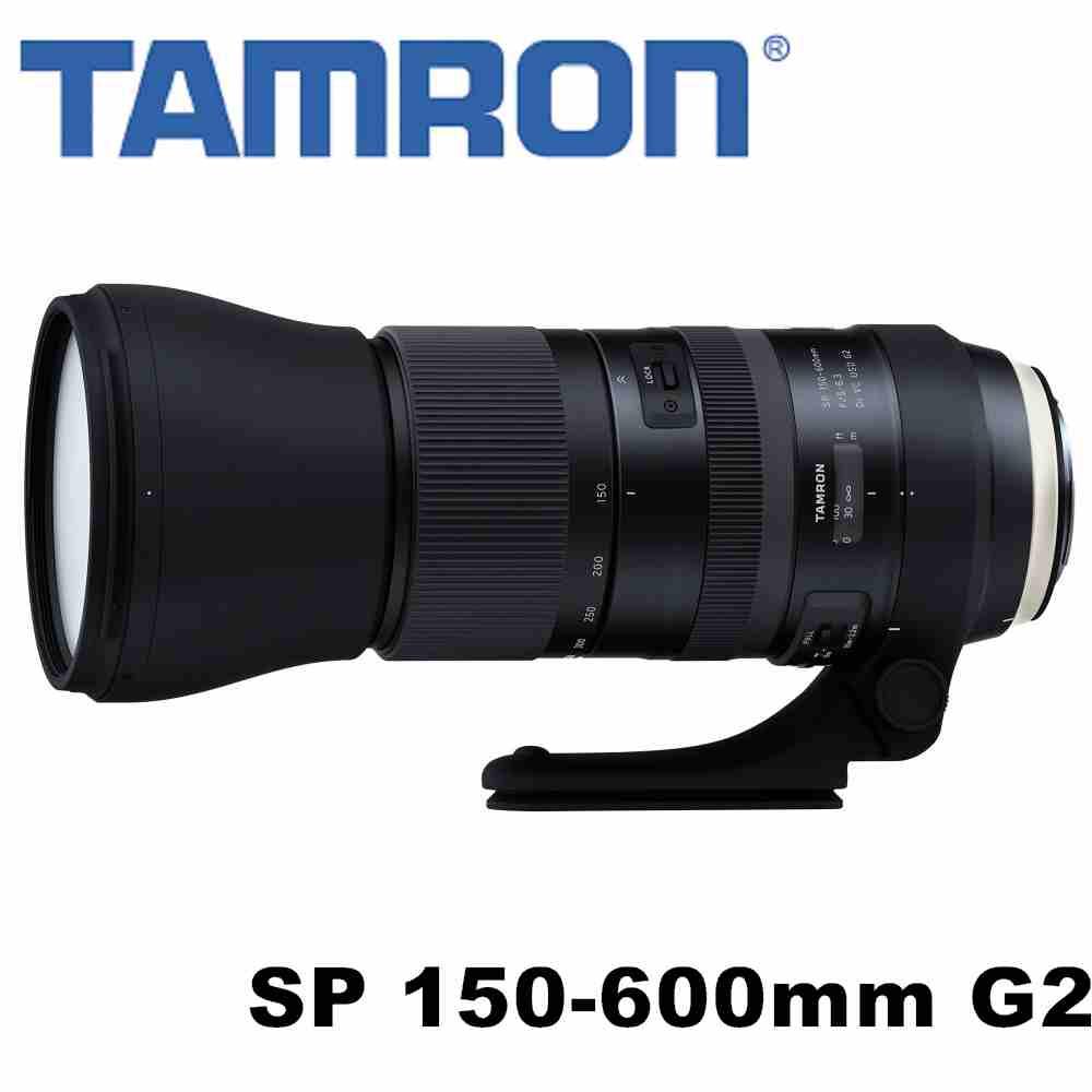 TAMRON SP 150-600mm F5-6.3 Di VC USD G2 A022 Canon 接環 公司貨 3年保固