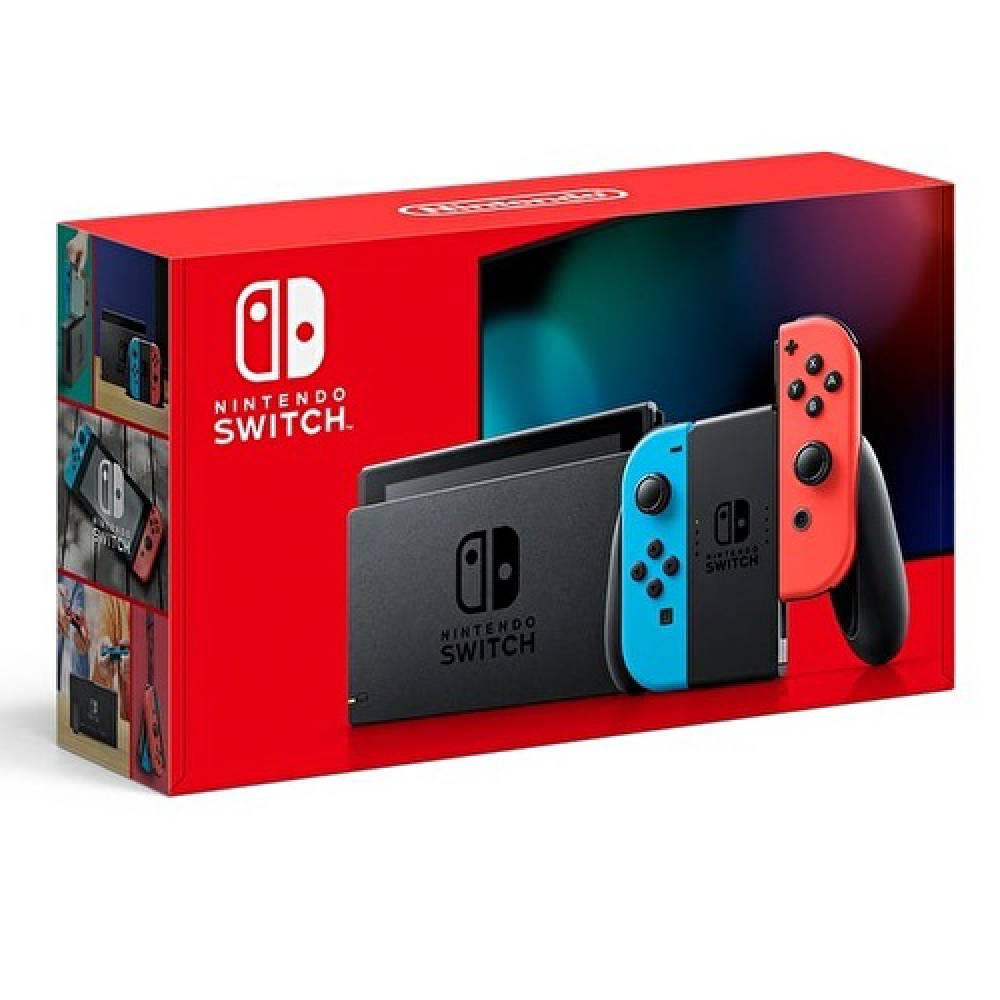 Nintendo Switch 主機 電光紅藍 (電池加強版)