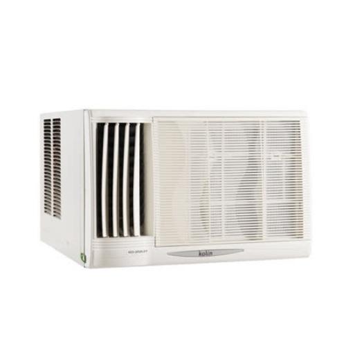 ★含標準安裝★【歌林 Kolin】 節能不滴水窗型冷氣KD-412L06《6坪》左吹