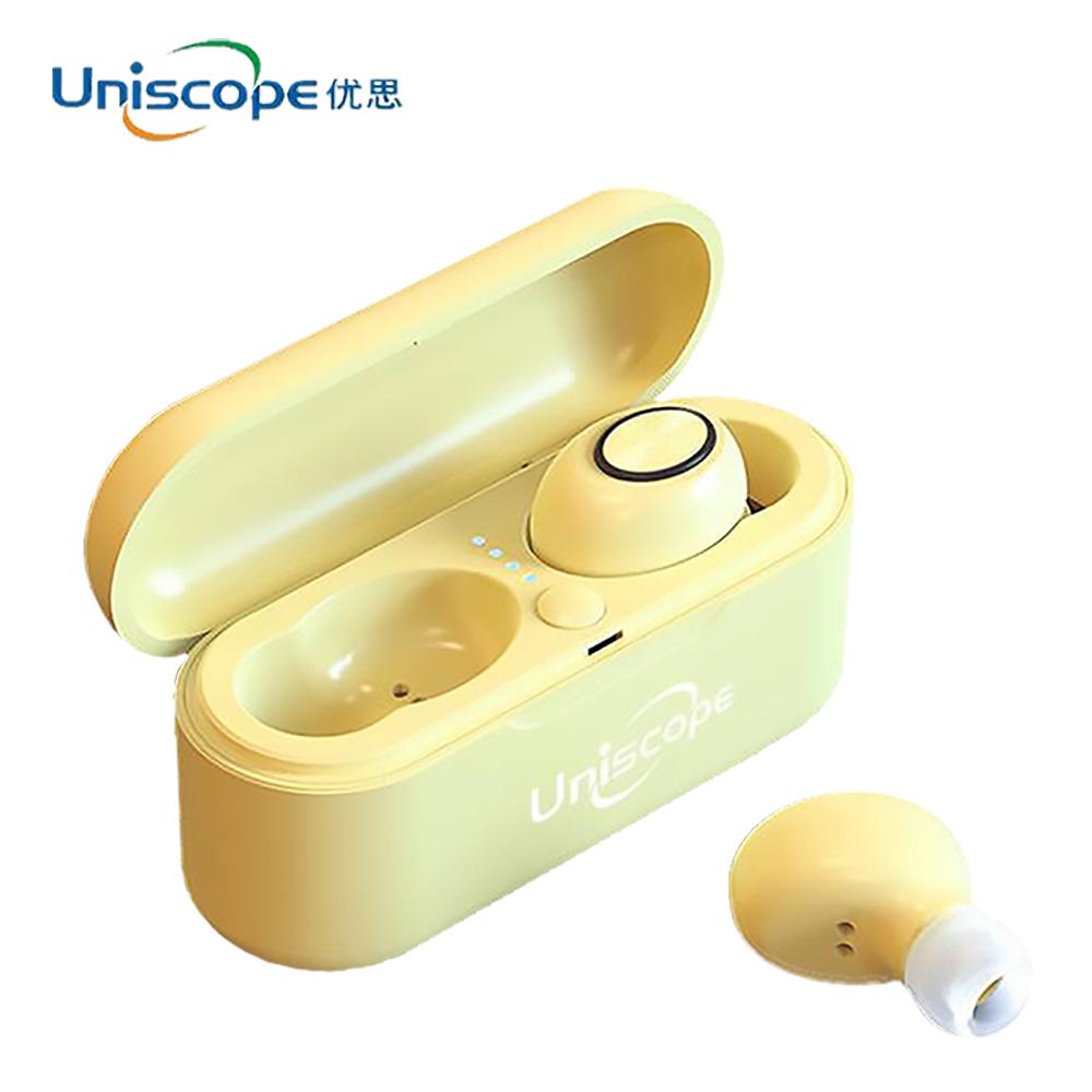 Uniscope優思 馬卡龍系列藍牙耳機-檸檬黃S20+(Y)