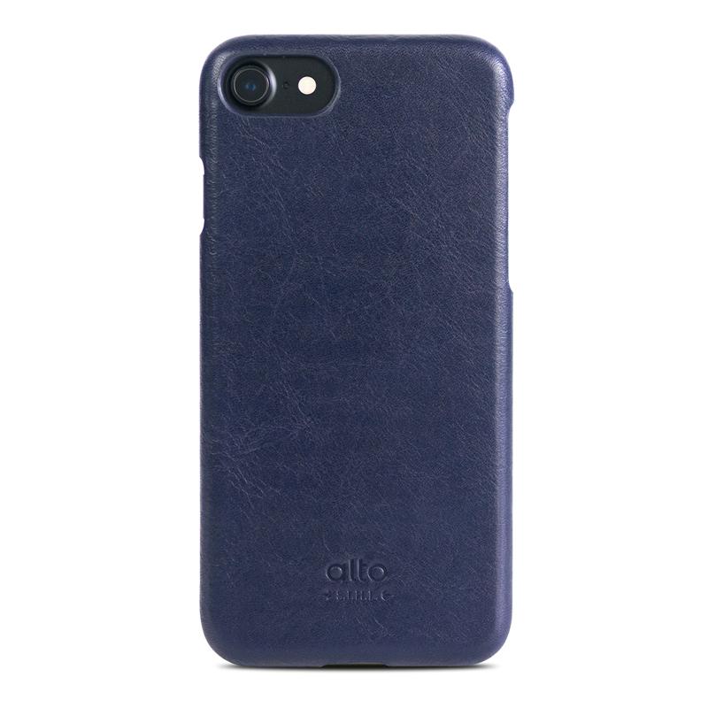 Alto|iPhone 7/8 真皮手機殼背蓋,Original(海軍藍)