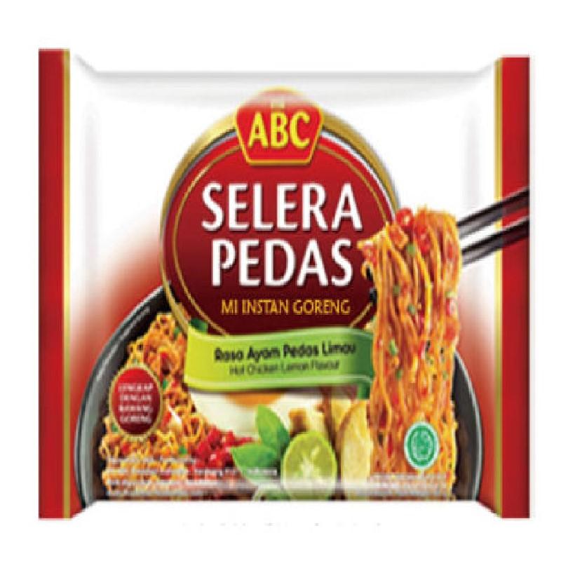 印尼ABC檸檬雞味炒麵85G*20包+蔥燒雞味湯麵65G*20包