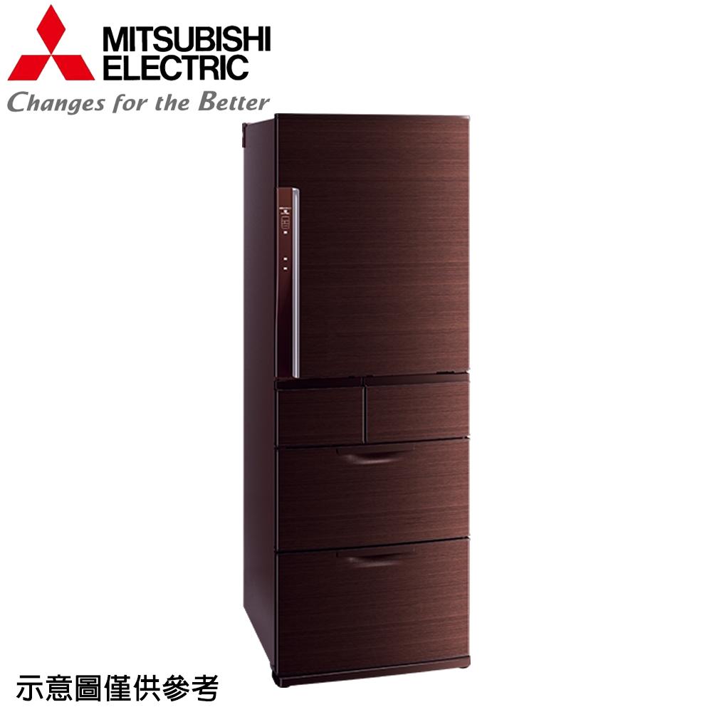 【MITSUBISHI 三菱】525公升日本原裝變頻五門冰箱MR-BXC53X-BR