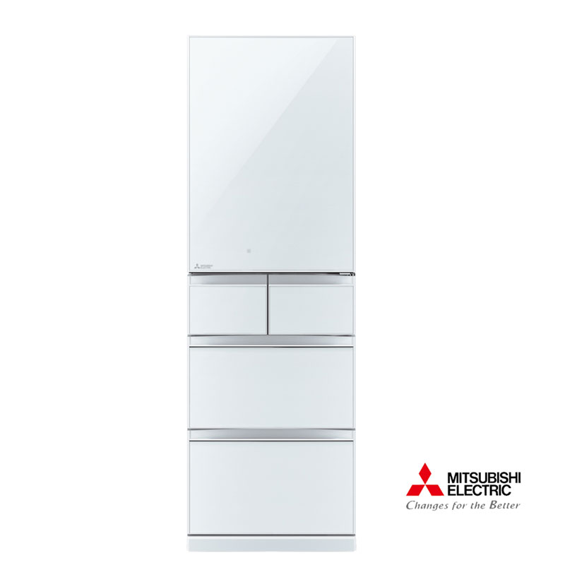 三菱455L日本原裝變頻五門電冰箱MR-BC46Z水晶白(W)