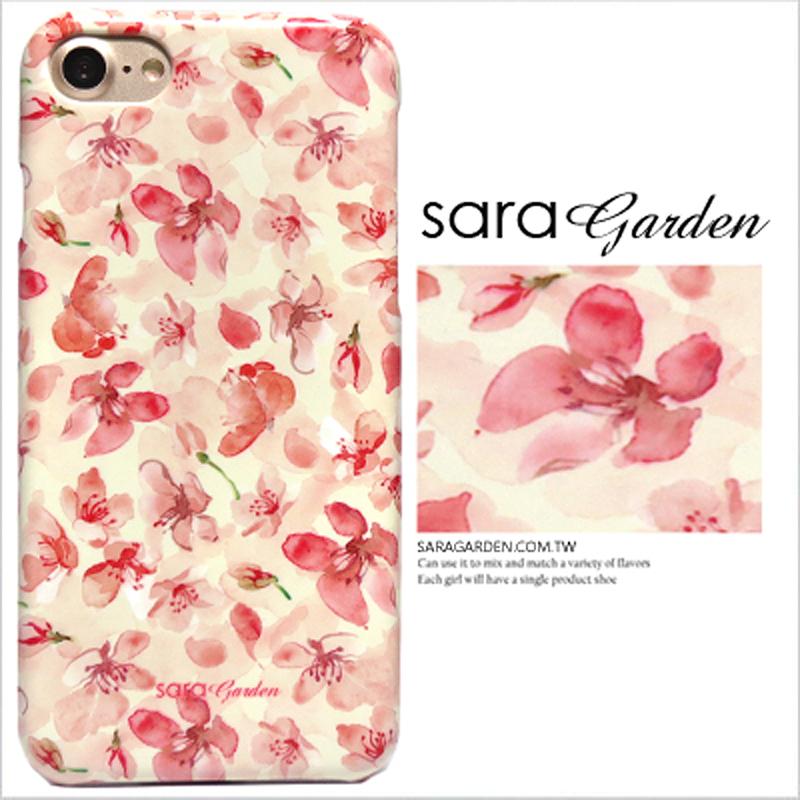 【Sara Garden】客製化 手機殼 Samsung 三星 A8Plus A8+ 2018 碎花花瓣 保護殼 硬殼