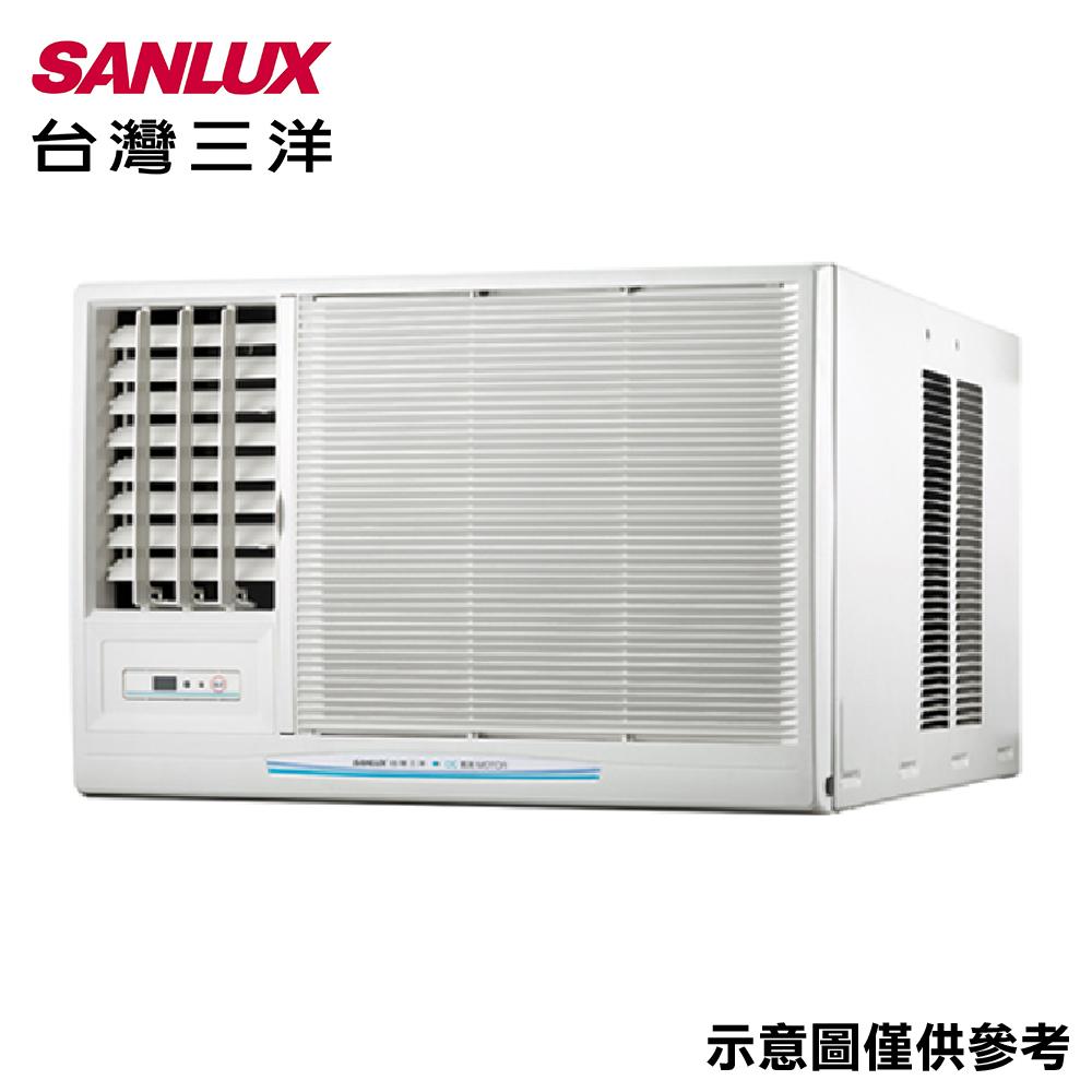 【SANLUX三洋】8-10坪窗型變頻左吹冷氣SA-L60VSE