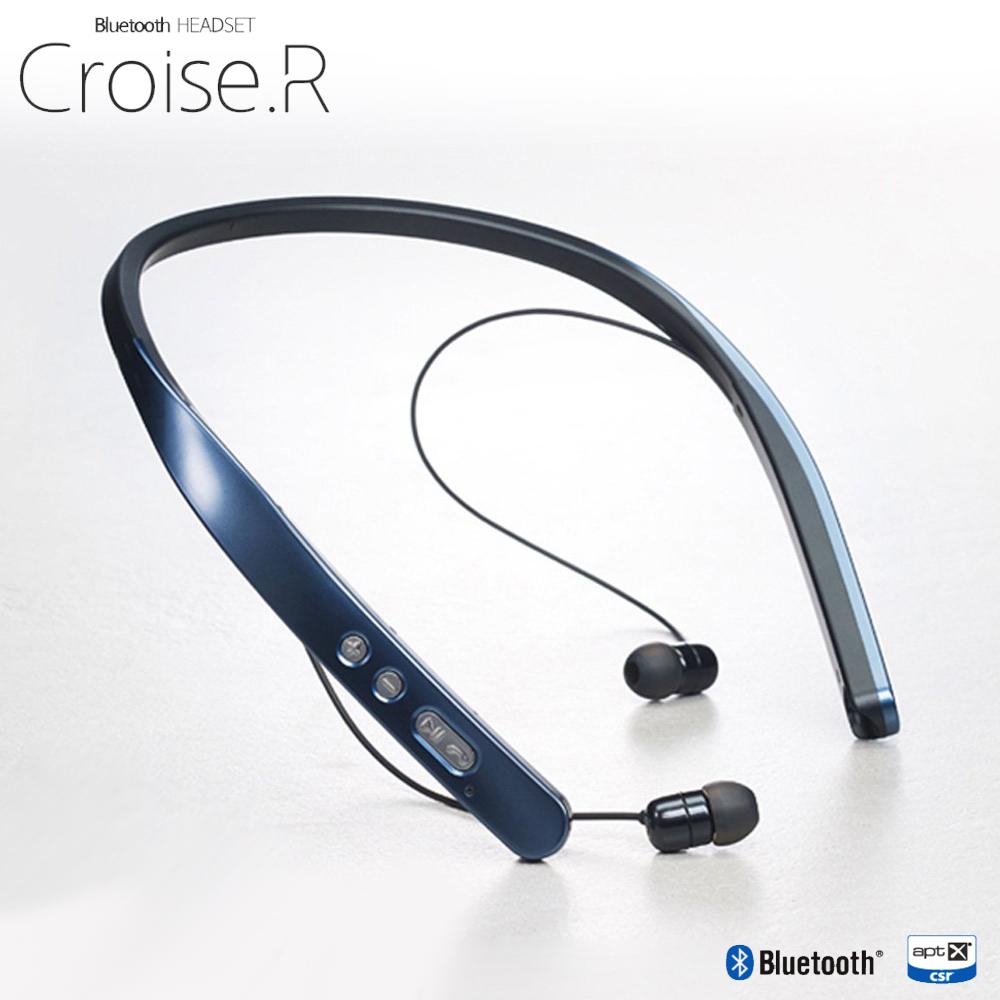 加贈原廠CROISE.A無線充電座(PTC-100)【韓國Partron】CROISE.R無線藍芽頸掛式耳機(PBH-200)原裝進口旗艦款