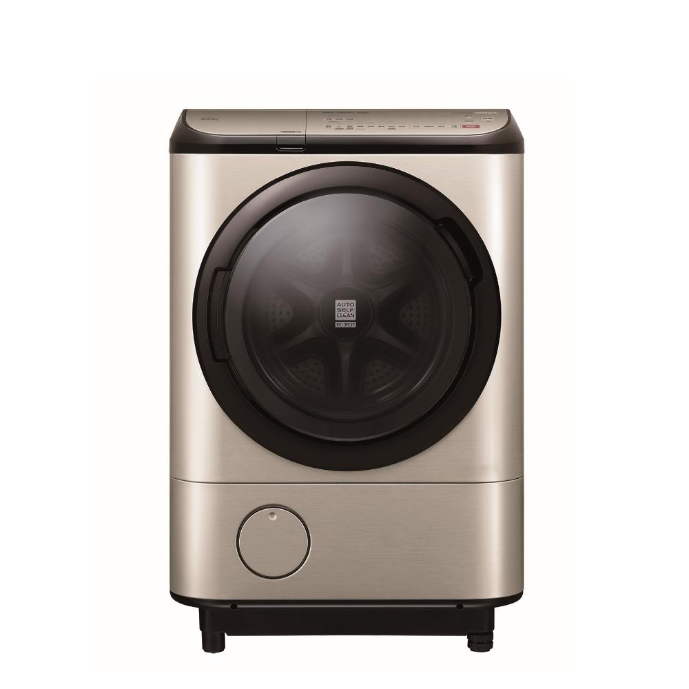 日立12.5公斤溫水滾筒(與BDNX125FH同款)洗衣機璀璨金BDNX125FHN