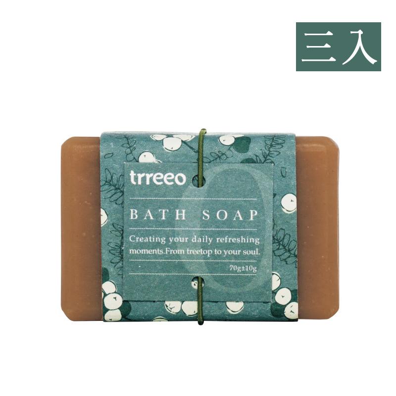 【樹重奏】薄荷清爽皂(三入組)
