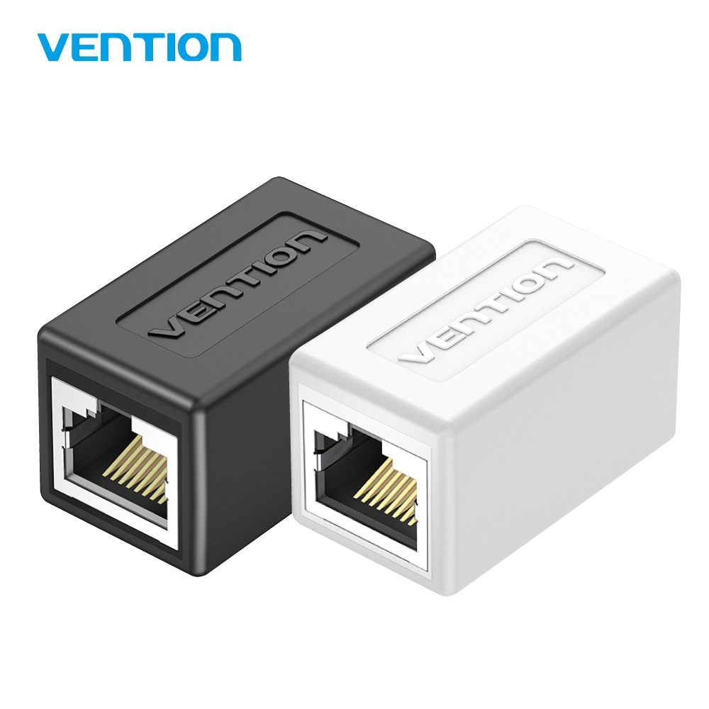 VENTION 威迅 IPV系列 千兆網路線連接器 5入 黑色