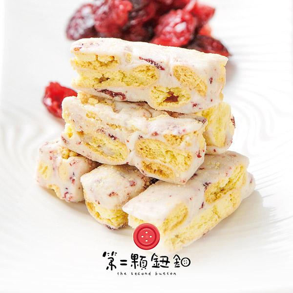 《第二顆鈕釦》法式牛奶雪花酥(100g/盒,共四盒)