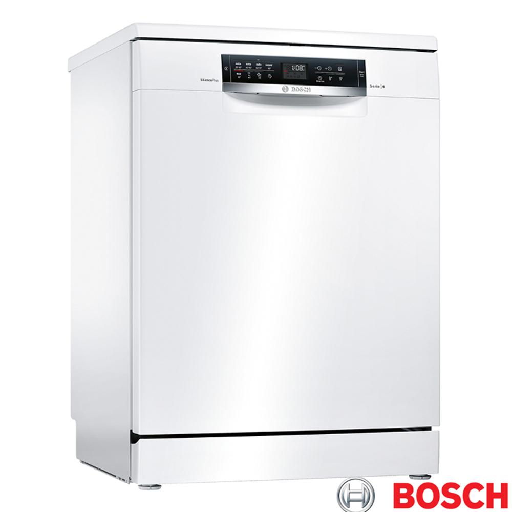 【BOSCH 博世】13人份 獨立式洗碗機 SMS68IW00X (含原廠基本安裝)
