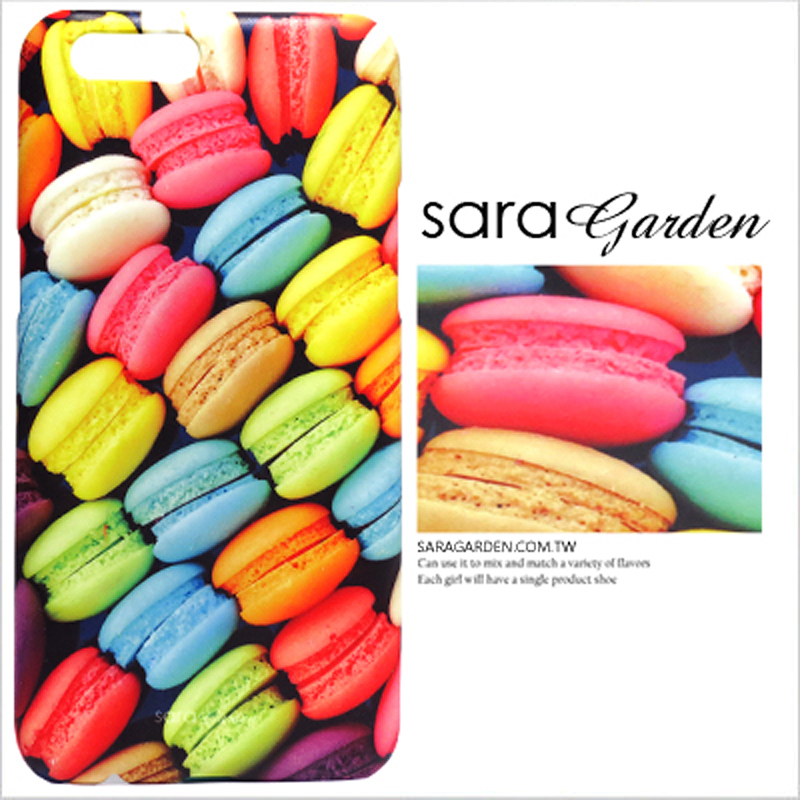 【Sara Garden】客製化 手機殼 蘋果iPhone XS Max 馬卡龍甜點 曲線 手工 保護殼 硬殼