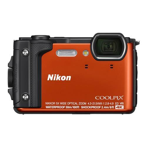 NIKON COOLPIX W300 - 橘色 送32G記憶卡+專用電池+專用座充+清潔組+螢幕貼+讀卡機+小腳架 公司貨