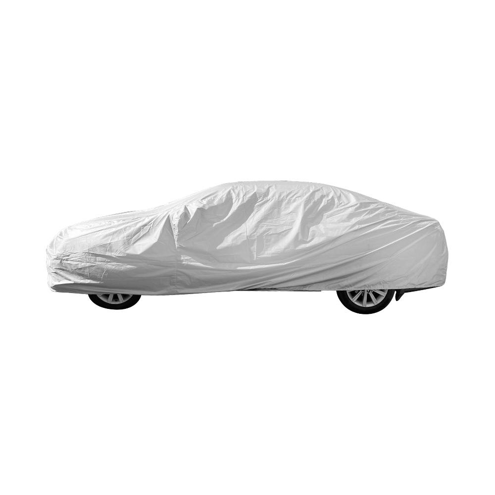 【安伯特】銀盾隔熱遮陽防雨車套(休旅車款) 牛津布 抗拉扯 防風卡扣 SUV-M