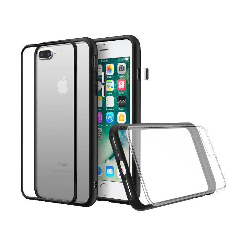 犀牛盾iPhone8 Plus/iPhone7 Plus MOD NX防摔背蓋手機殼 黑