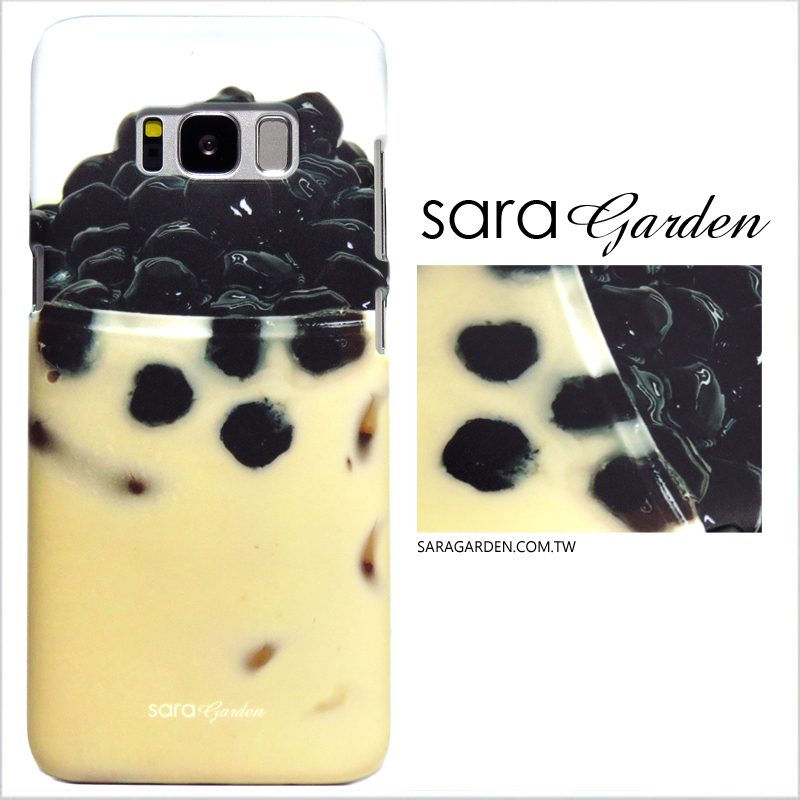 【Sara Garden】客製化 手機殼 Samsung 三星 J7Plus j7+ 珍珠奶茶 保護殼 硬殼