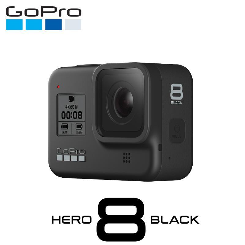 GoPro HERO8全方位攝影機全配組 黑 (電池+腳架+延長桿+護套)