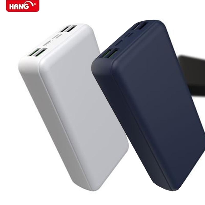 HANG 40000MAH PD1 QC3.0 4USB高效行動電源 (白色)
