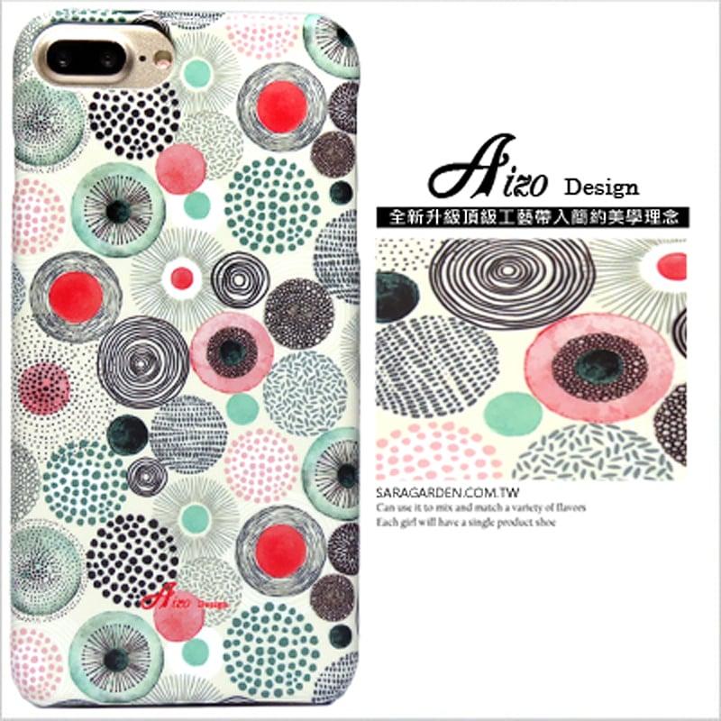 【AIZO】客製化 手機殼 ASUS 華碩  Zenfone2 laser 5.5吋 ZE550KL 手繪 水玉 圓點 保護殼 硬殼