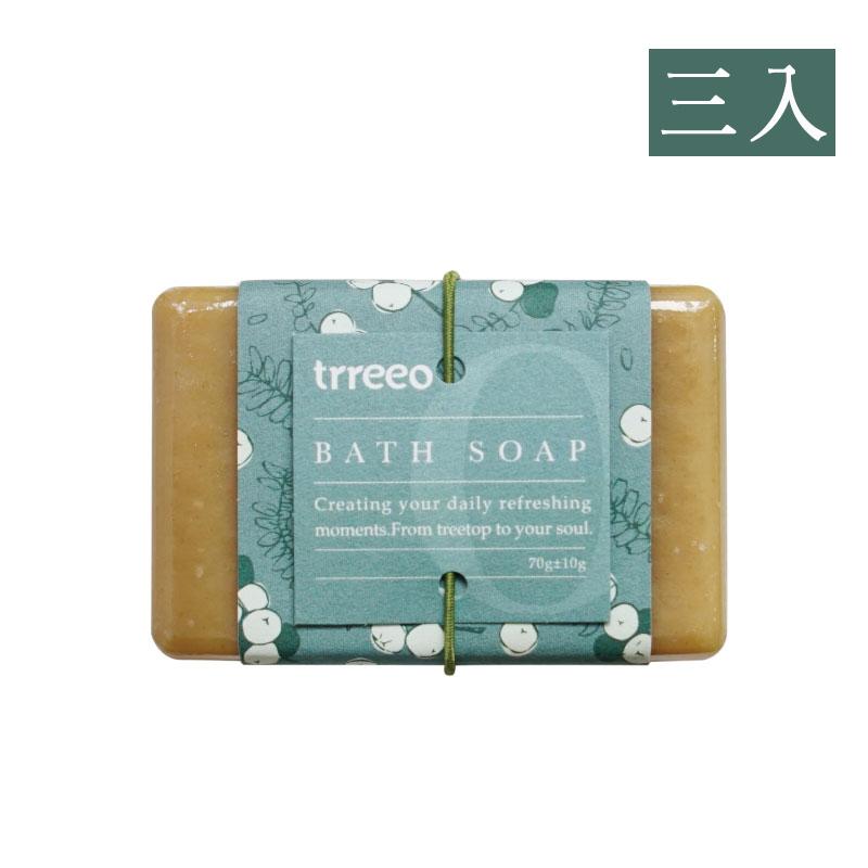 【樹重奏】薑黃豆漿溫和皂(三入組)