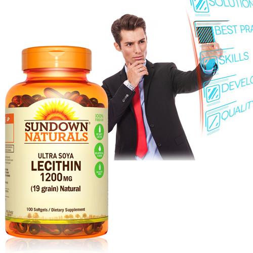 【超值優惠】Sundown日落恩賜 頂級61%卵磷脂膠囊(100粒/瓶)