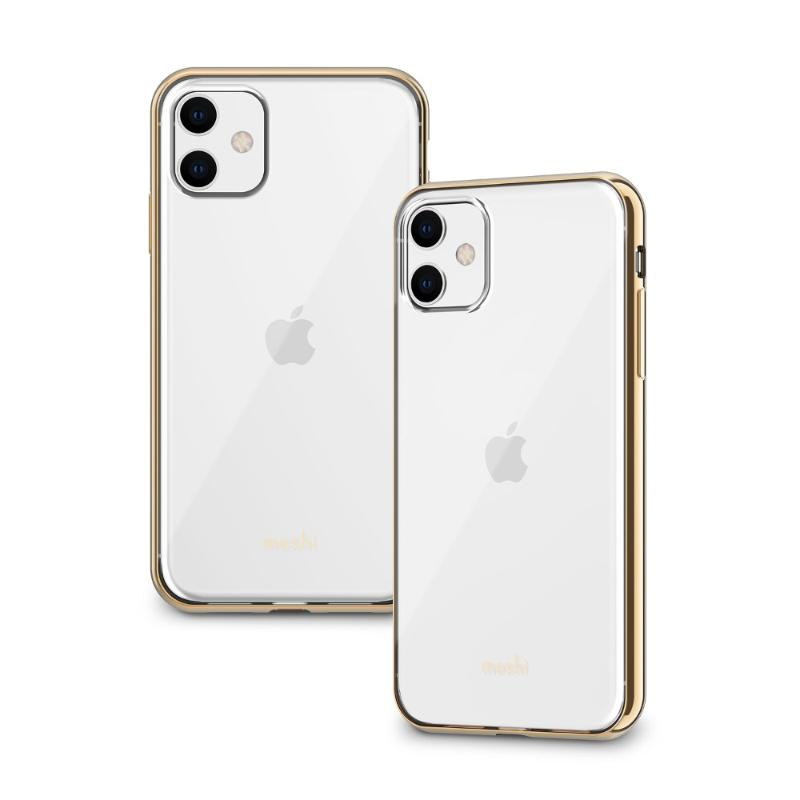 Moshi Vitros 超薄透亮保護背殼iPhone 11 6.1 金