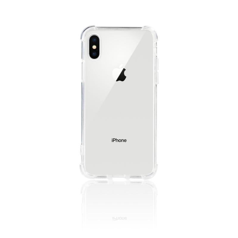 SIMPLE WEAR FORTIFY強化抗刮保護殼 iPhoneX 透明