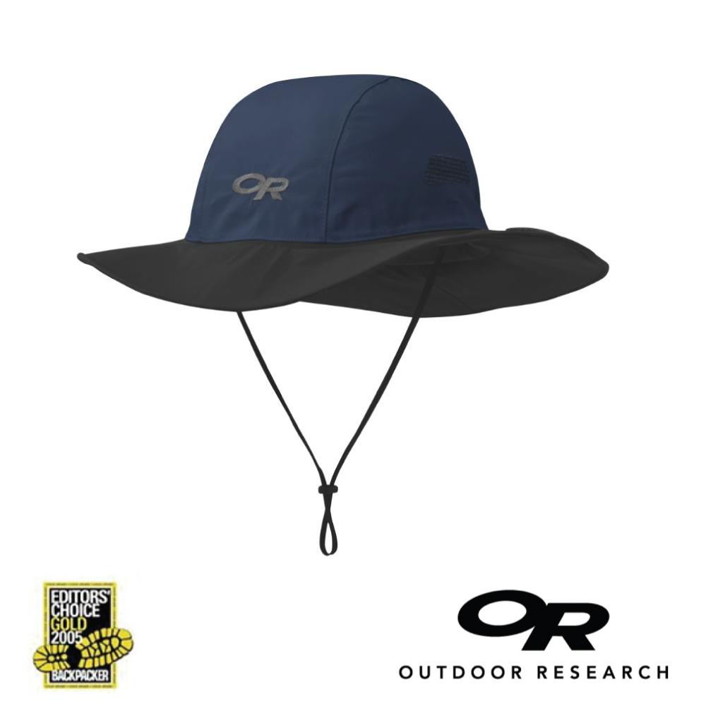 【美國Outdoor Research】深藍M-經典款防水透氣防曬可折疊遮陽帽 (9/30~10/3訂單會延後至10/5開始出貨)