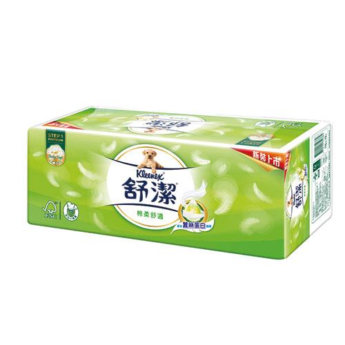 【舒潔】棉柔舒適抽取衛生紙110抽x12包/串
