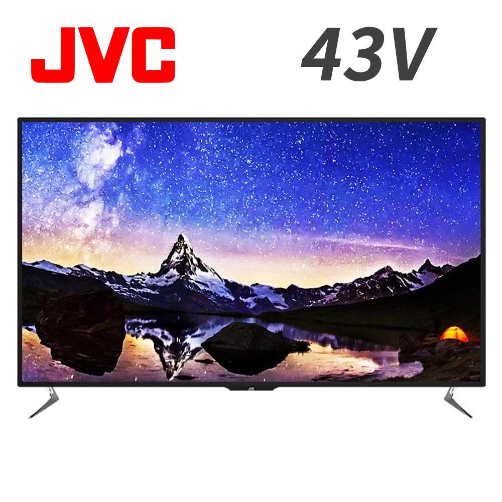 JVC 43吋 4K HDR連網液晶顯示器(43V)*送HDMI線