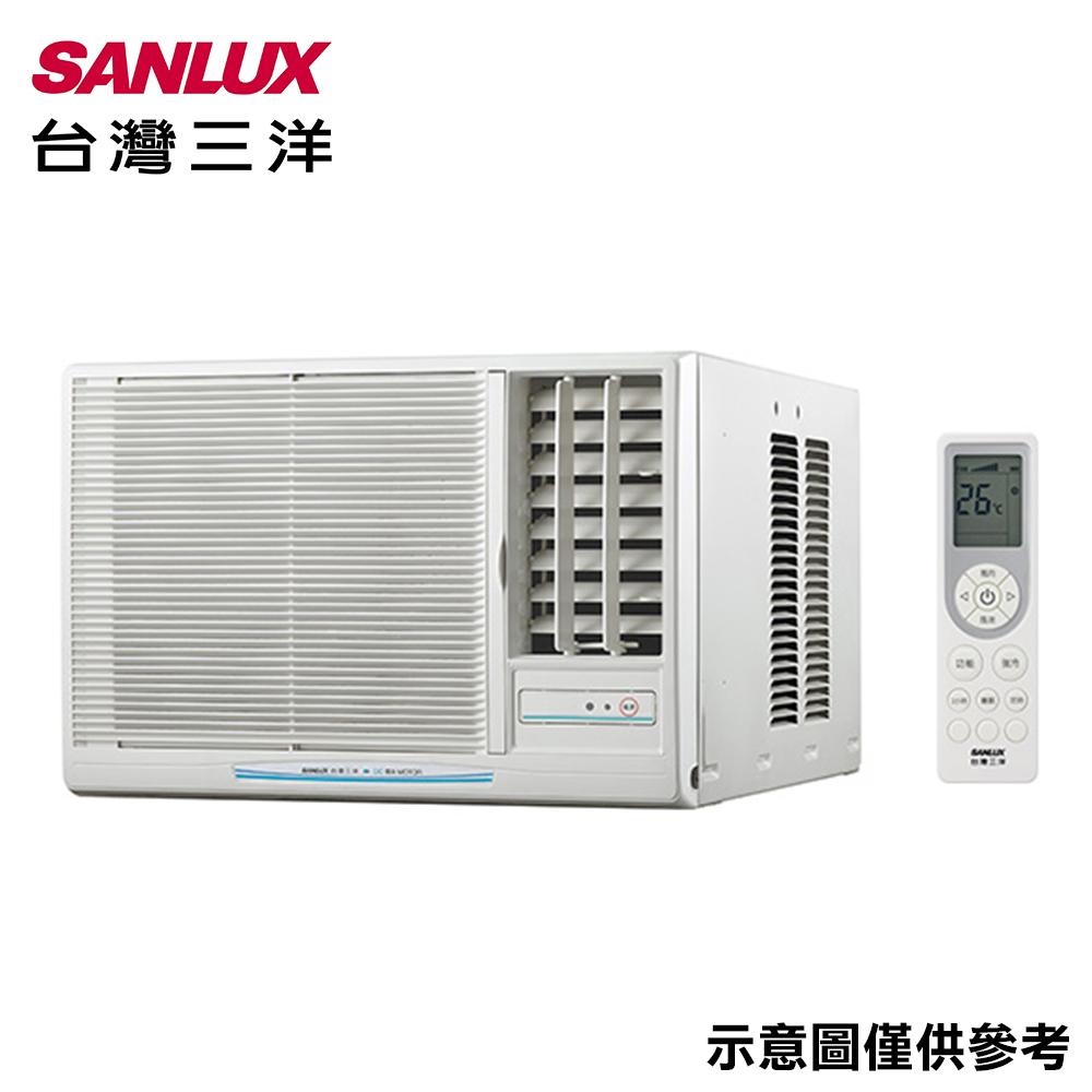 【SANLUX三洋】9-11坪窗型定頻右吹冷氣SA-R63FEA