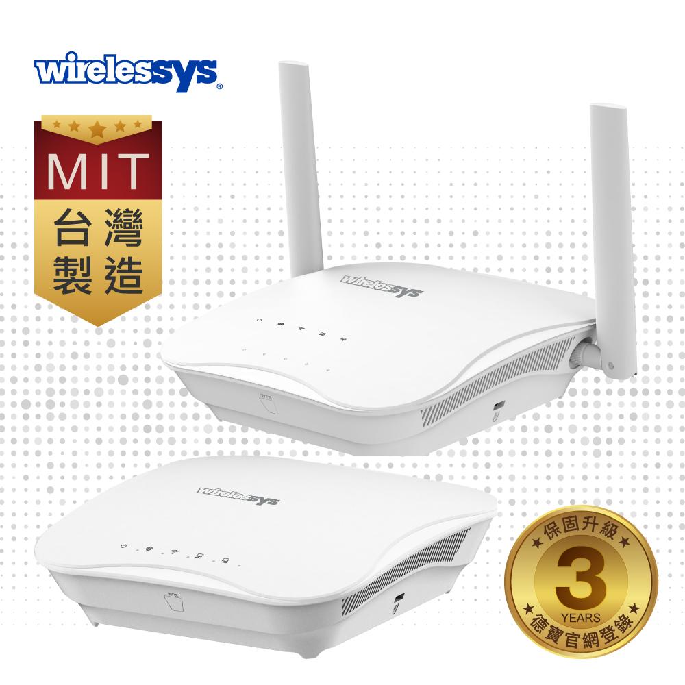 Wirelessys TM120 4G +MR120 Wi-Fi 網狀無線路由器