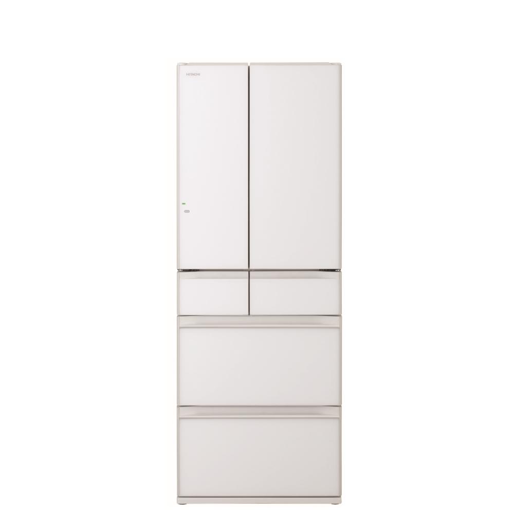 日立607公升六門-琉璃(與RHW610NJ同款)冰箱XW琉璃白RHW610NJXW