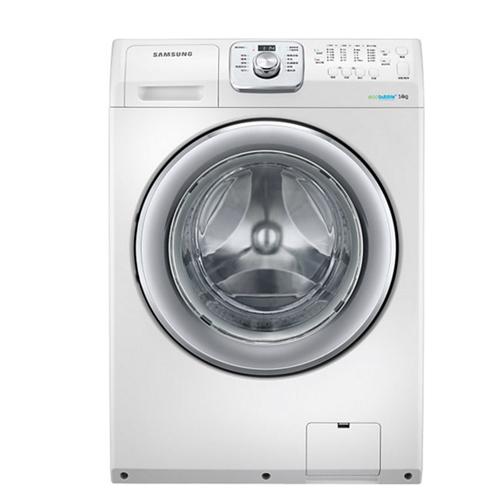 買就送國際14吋立扇F-L14BMS★三星14公斤變頻洗脫滾筒洗衣機WF14F5K3AVW/TW