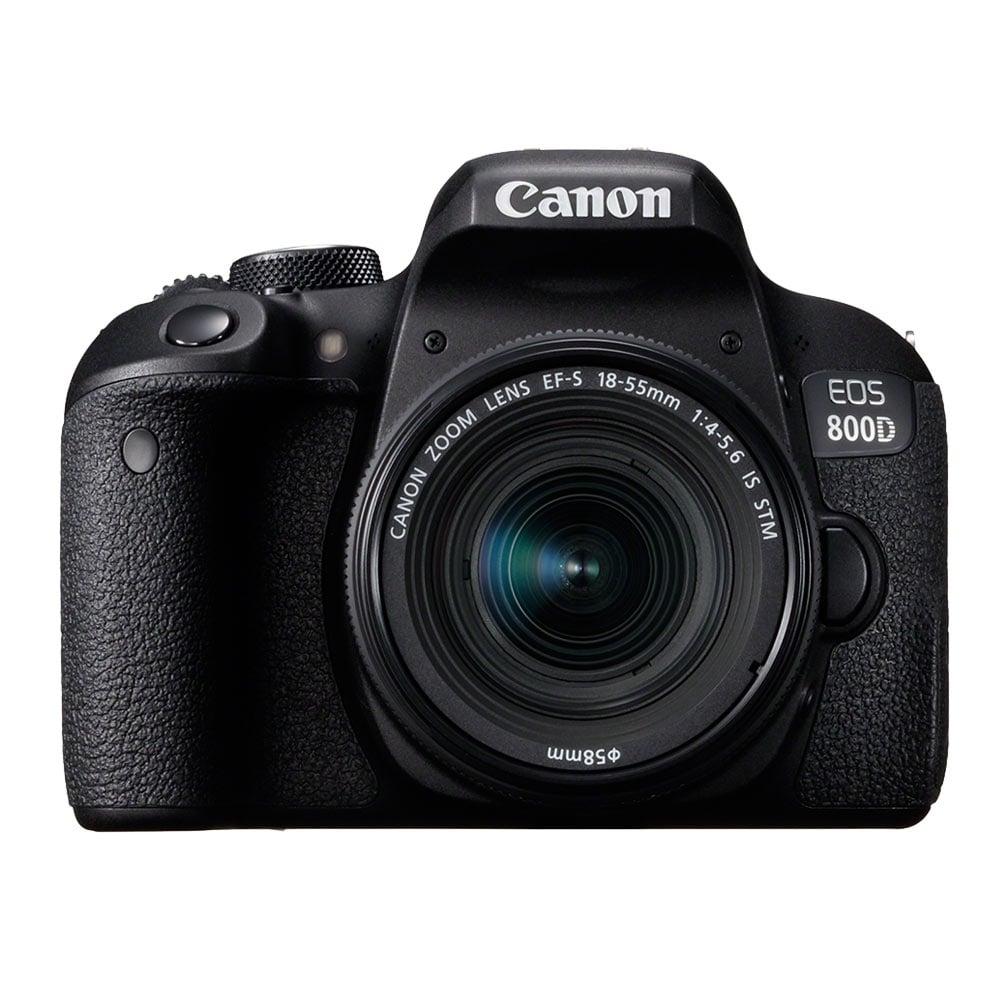 Canon EOS 800D 18-55mm STM 變焦鏡組(公司貨)-加送64G記憶卡+吹球清潔組
