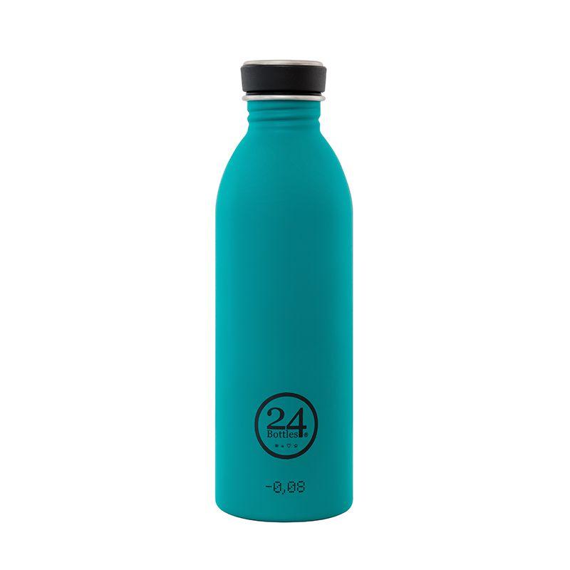 義大利 24Bottles 城市水瓶 500ml - 海灣藍