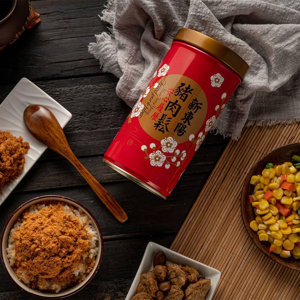 【新東陽】履歷豬肉鬆 (270g*2 罐)