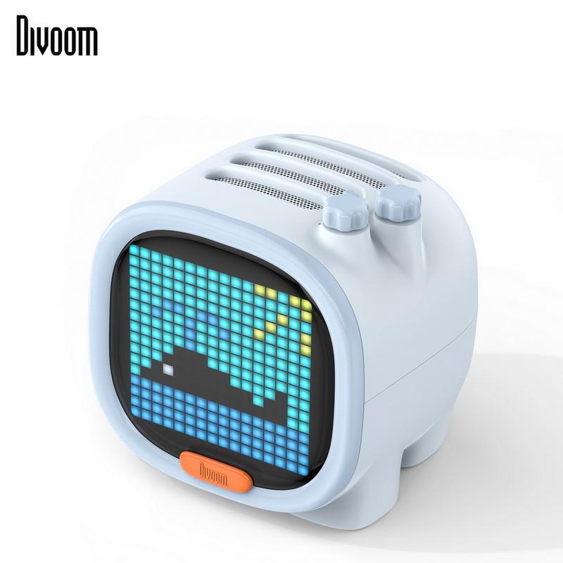 【Divoom】TIMOO 像素藍牙喇叭(天空藍)
