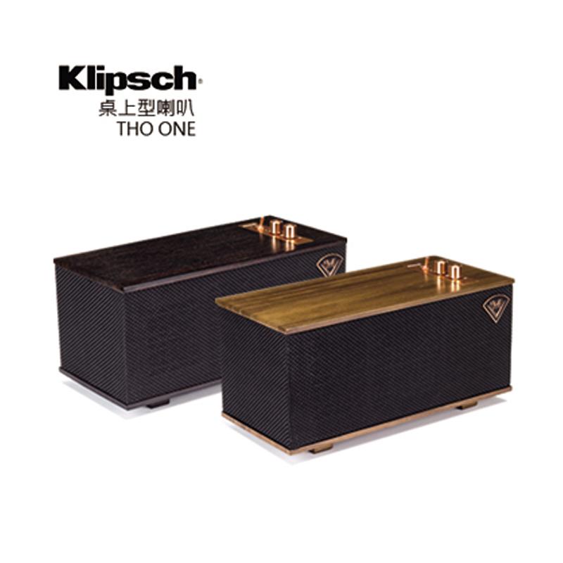 【美國 古力奇 Klipsch 】桌上型喇叭 THE ONE THE-ONE 核桃木