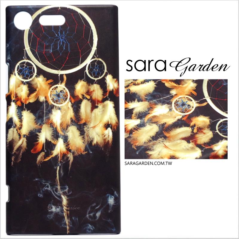 【Sara Garden】客製化 手機殼 蘋果 iPhone XS Max 羽毛捕夢網 手工 保護殼 硬殼