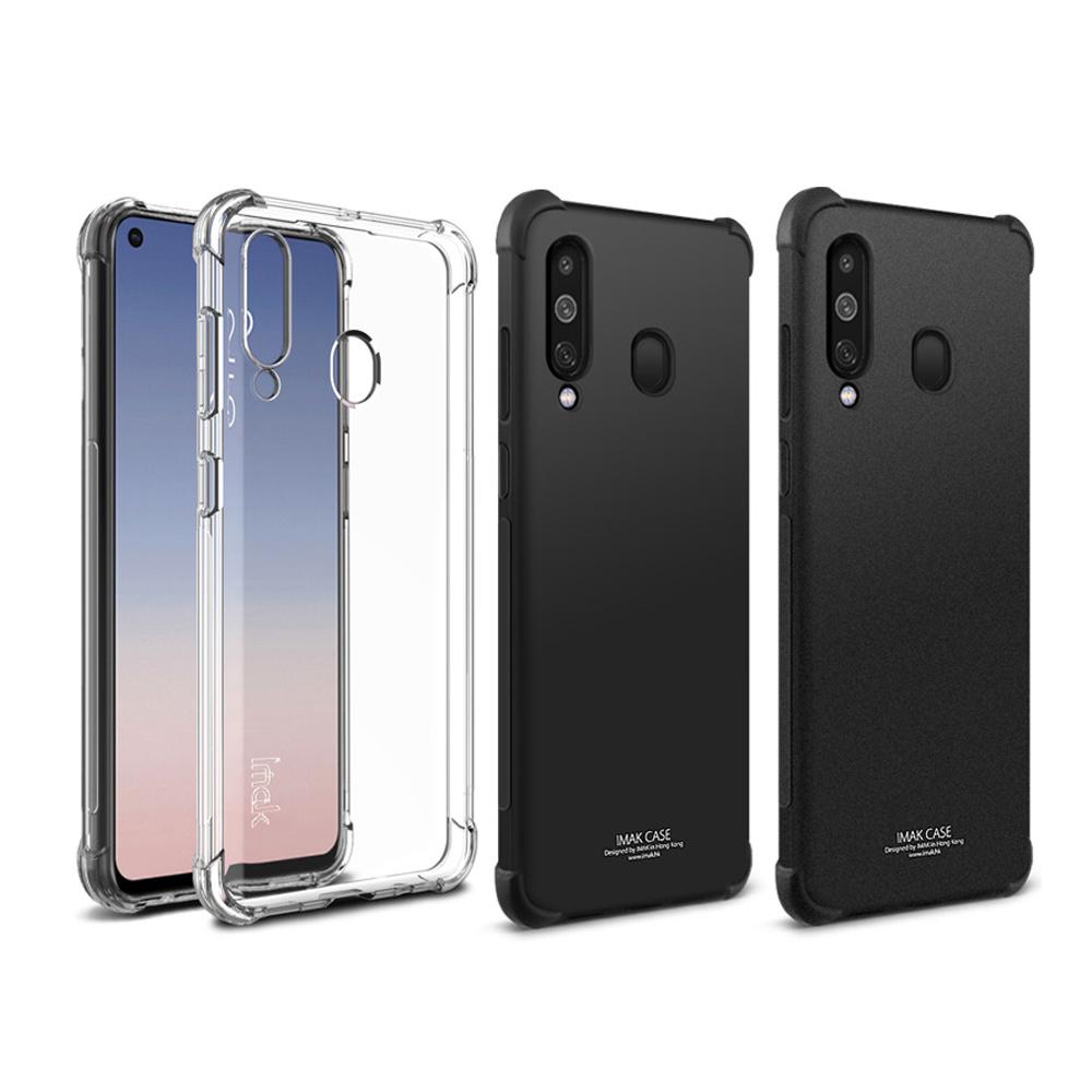 Imak SAMSUNG Galaxy A60 全包防摔套(氣囊)(透明)