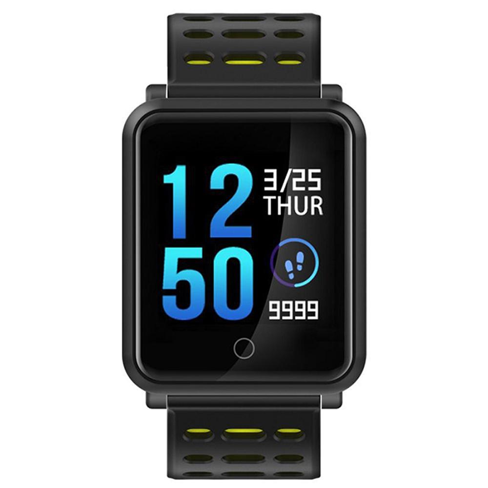 全新彩色螢幕旗艦智能藍芽手錶-黑