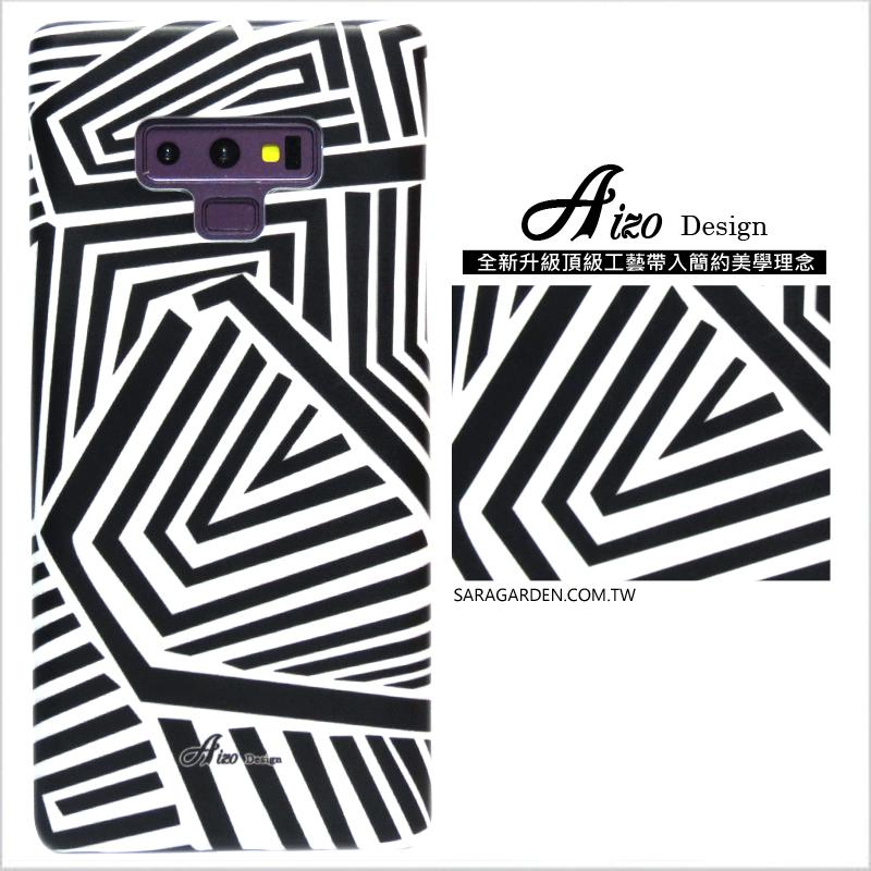 【AIZO】客製化 手機殼 Samsung 三星 Note10 幾何線條 保護殼 硬殼