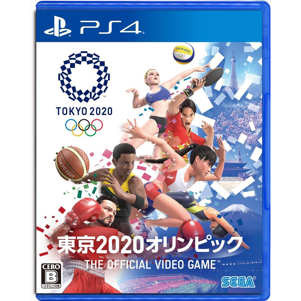 PS4 東京奧運 The Official Video Game 中文版