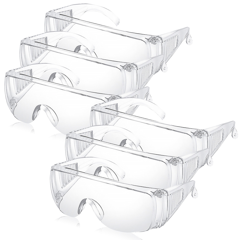 OPretty 歐沛媞 防護護目鏡(16cmX5.5cmX14cm)X6-防霧防撞 防飛沫 防塵防風眼鏡
