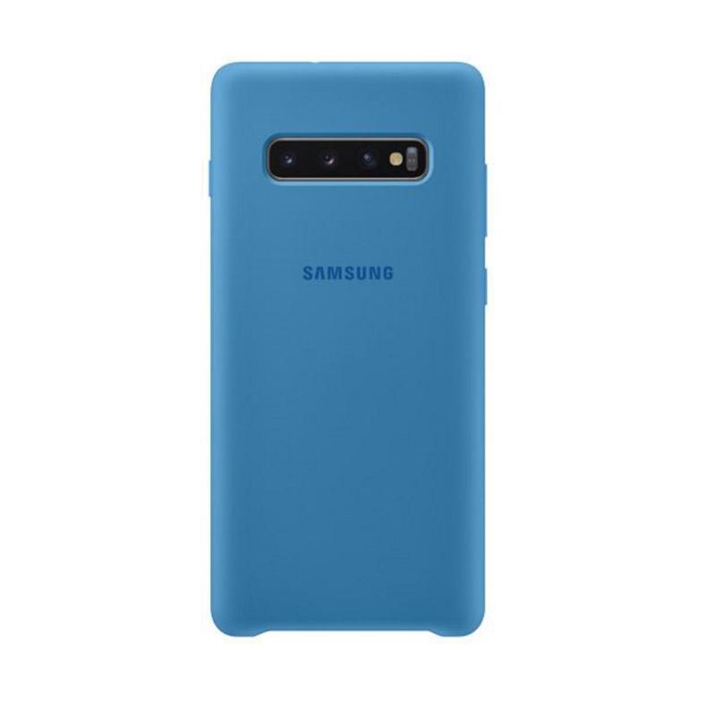SAMSUNG Galaxy S10+ 薄型背蓋 (矽膠材質) 藍