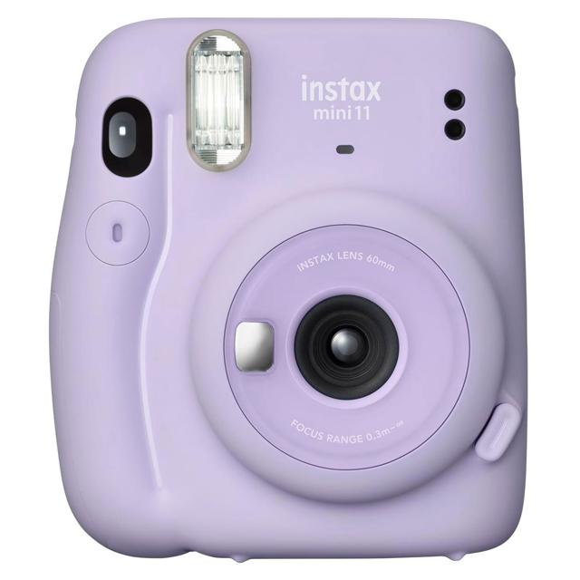 FUJIFILM instax mini 11 拍立得相機 送束口袋 (公司貨) - 丁香紫