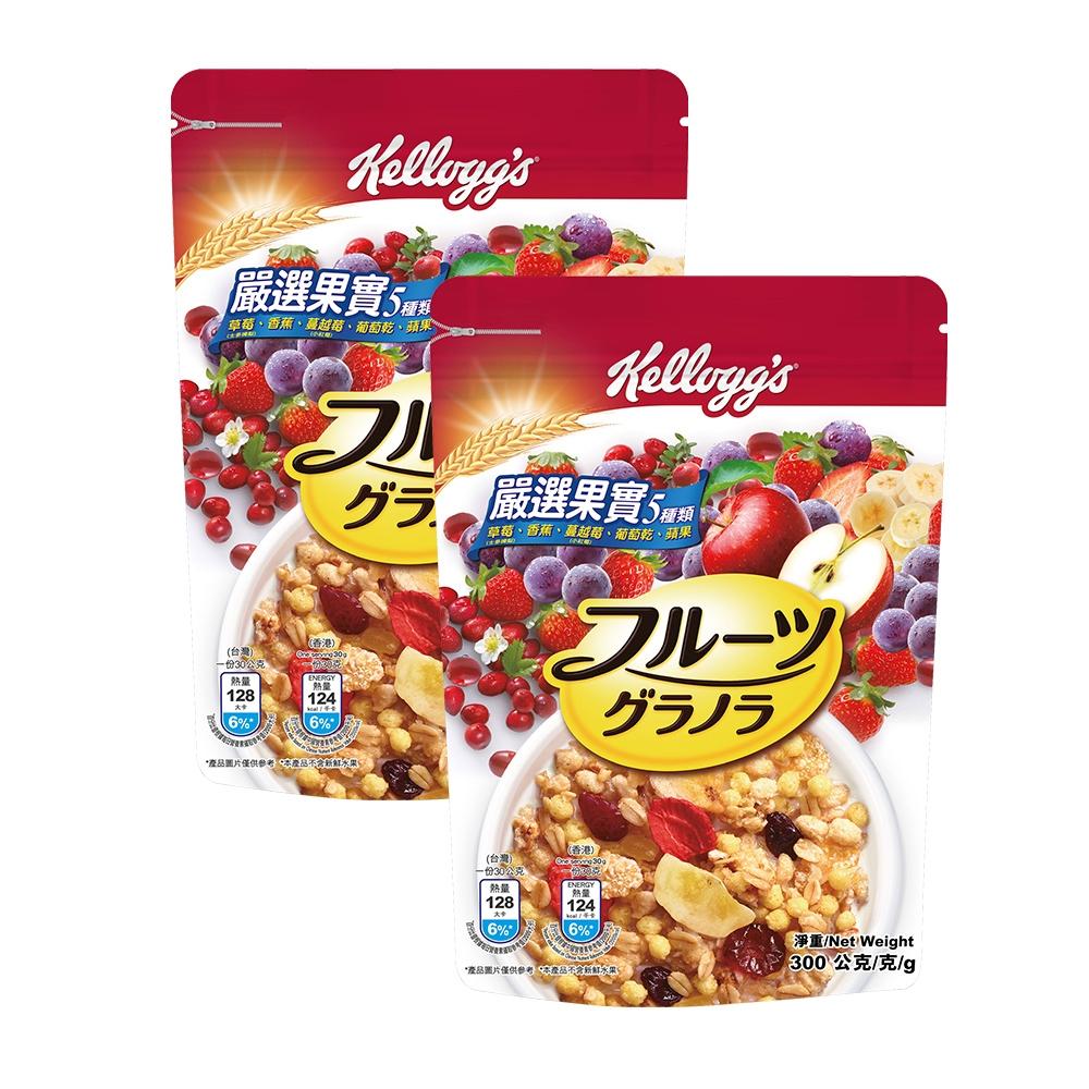 Kellogg's 家樂氏 日式水果穀片-嚴選果實 300gX2