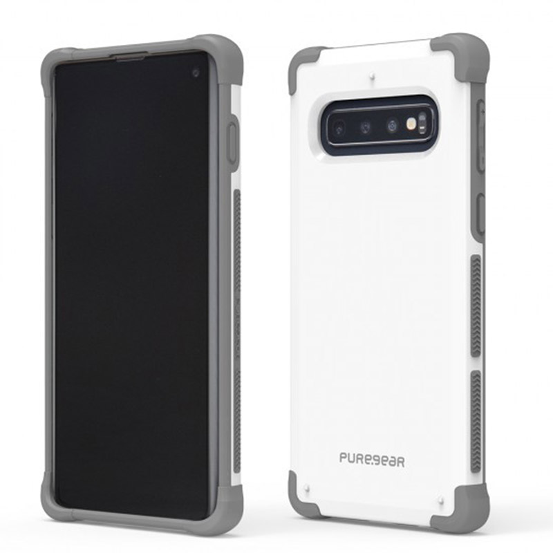 Puregear DUALTEK坦克保護殼 Samsung Galaxy S10(極地白)